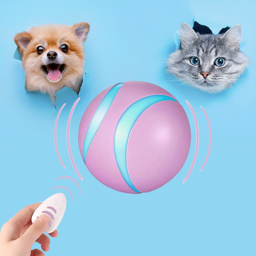 Interactive Pet Ball 100% Autonomous & Wireless  Remote Controlled