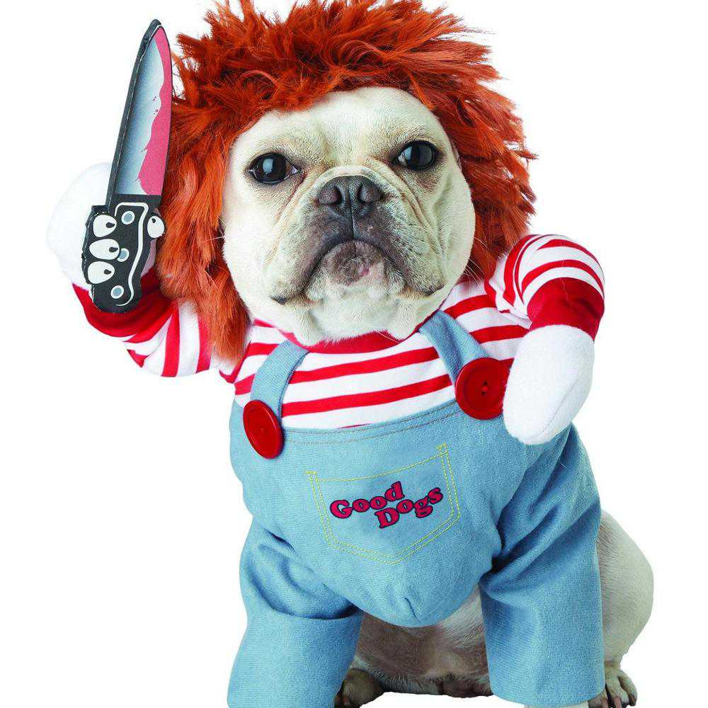 Chucky the Killer Doll Funny Pet Cosplay Costume
