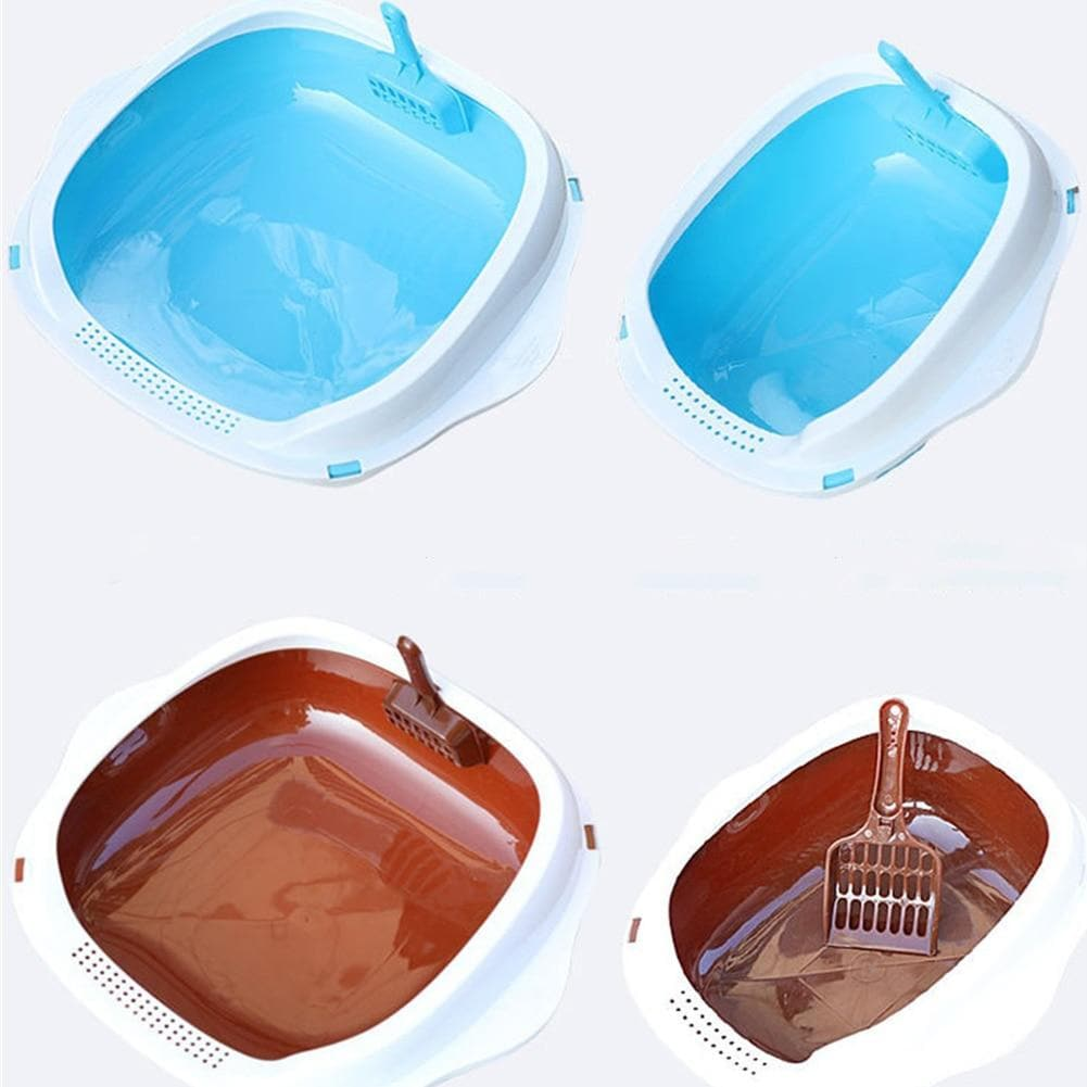 Hot Sale Anti-splash Cat Litter Box with Scoop (FREE Shipping)