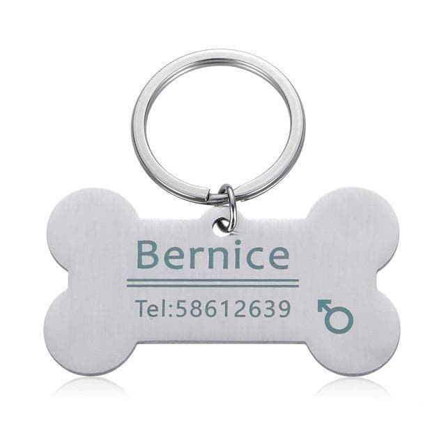 Customized & Personalized Pet ID Tag for Cat and Dog