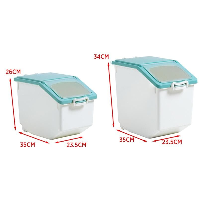 Moisture-proof Pet Food & Rice Storage Box 10-15Kg