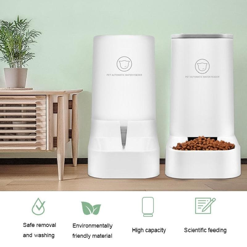 Automatic Food & Water Feeder