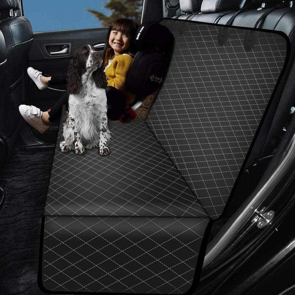 Premium Dog Car Seat Covers Backseat Protector Waterproof