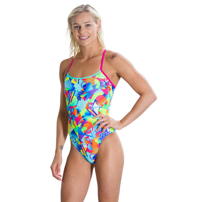 Speedo Flipturns Spectrum Splash Digital Single Crossback