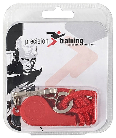 Precision Training Plastic Whistle and Lanyard