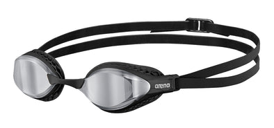 Arena Airspeed Mirror Swimming Goggles - Silver Lens