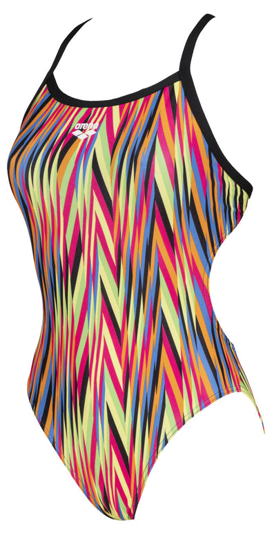Arena Womens Speed Stripes Challenge Back One Piece