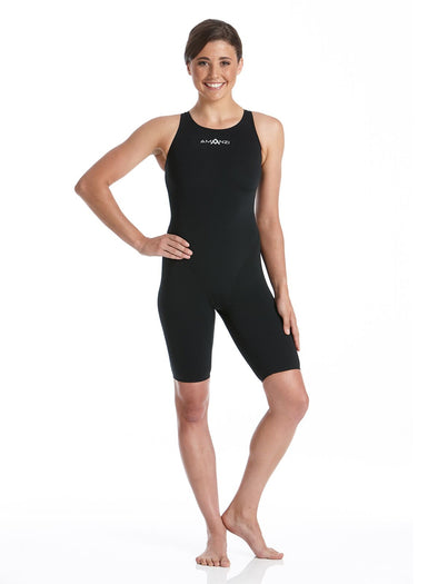 Amanzi Acceler8 Black Kneelength Swimsuit