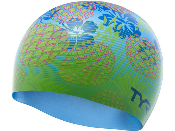 TYR Pineapple Fade Swimming Hats