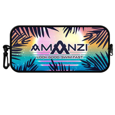 Amanzi Sunset Vibes Neoprene Goggle Case