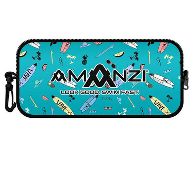 Amanzi Surfs Up Neoprene Goggle Case