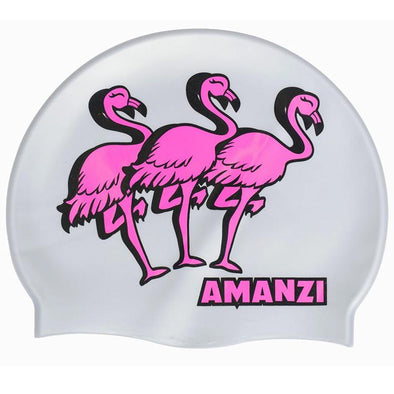 Amanzi Flamingle Swim Cap