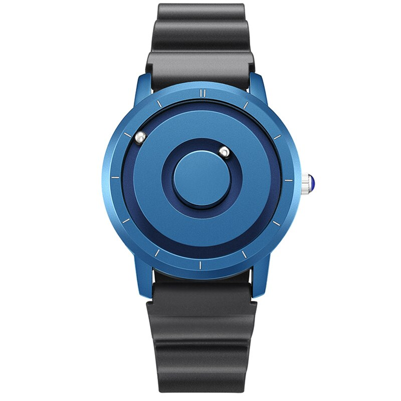 QUANTUM Magnetic Ball Eutour Watch - Blue Black
