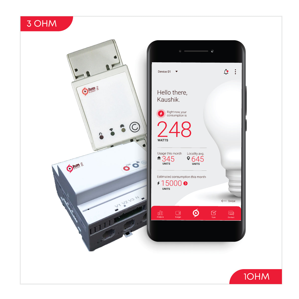 ohm assistant, analysis, analytics, sustlabs, appliaces, appliance detection, energy monitor, power monitor, power saver, electricity monitoring device, smart meter, electricity meter, smart energy meter, know you energy, buy smart meter,