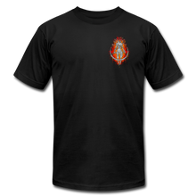 Load image into Gallery viewer, Lava Mark Unisex Tee - black