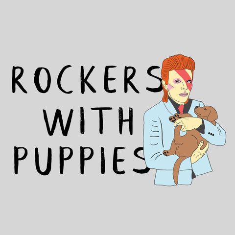 Rockers With Puppies