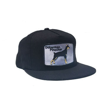 Doberman Snapback Black