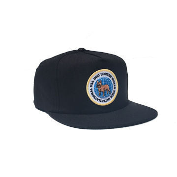 Dog Limited International Worldwide Snapback Black