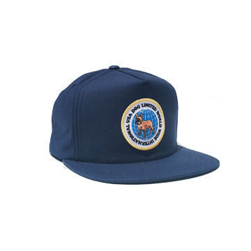 Dog Limited International Worldwide Snapback Navy