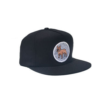 Composition Frenchie Snapback Black