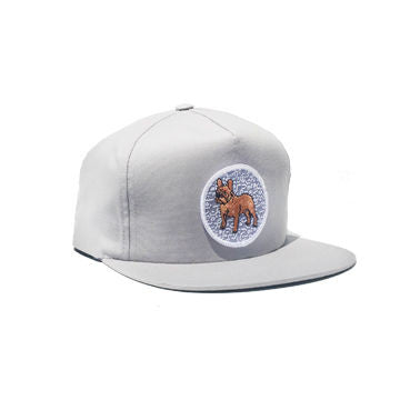 Composition Frenchie Snapback Gray