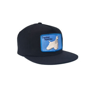 Cocker Spaniel Snapback Black