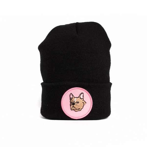 Frenchie Face Beanie