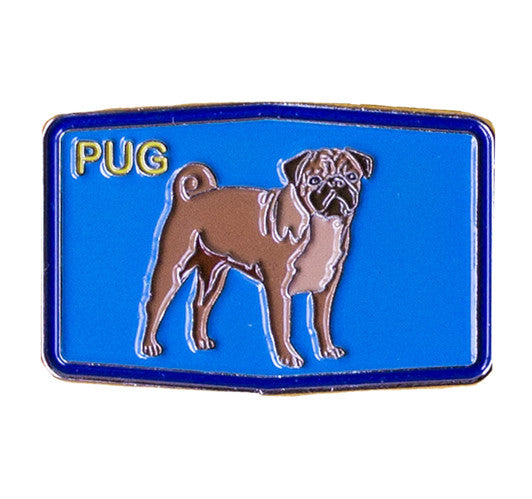 Pug Patch Lapel Pin