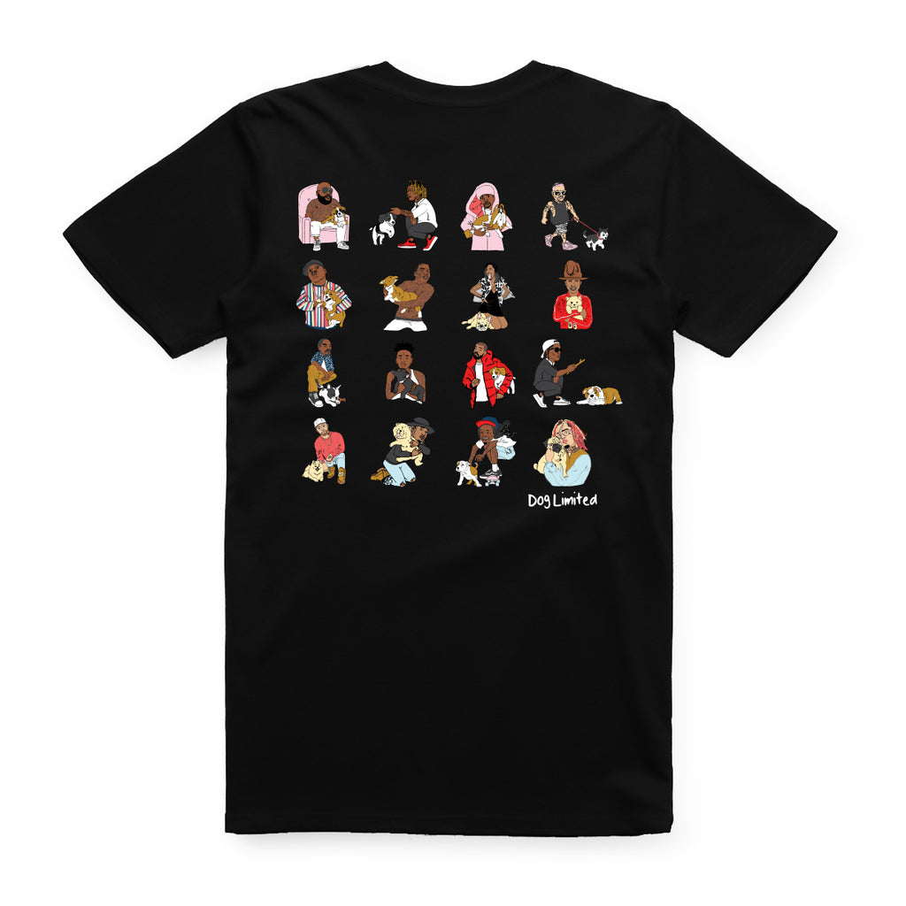 Rappers With Puppies Tee