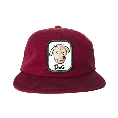 Dog Funnie Snapback Burgundy