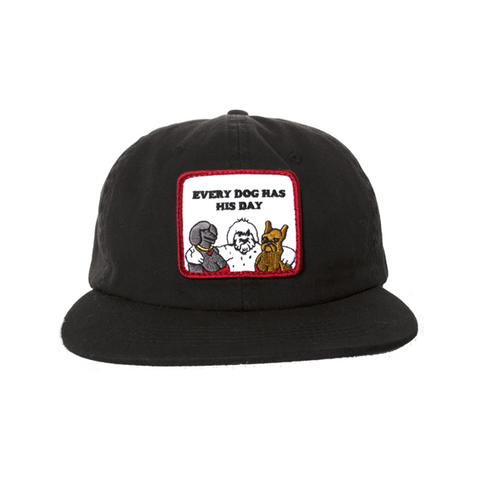 Dog Day Snapback Black
