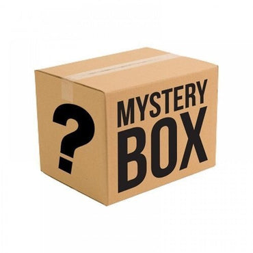 Mystery Box - Puppy Size includes 2 t-shirts, 2 pairs of socks, and 1 hat