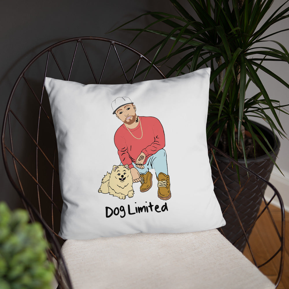 Dac - Rappers With Puppies Pillow
