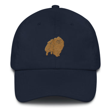 Pomeranian Dad Hat
