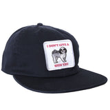 Don't Give A Shih Tzu Snapback Navy