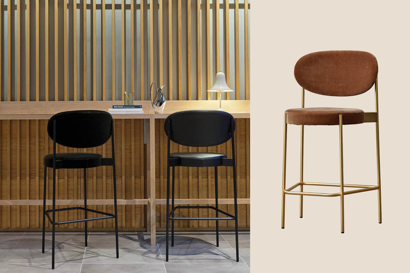 Series 430 Bar Stool now in brass