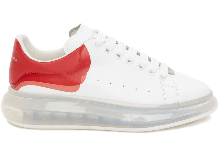 Alexander McQueen Oversized Clear Sole Lust Red