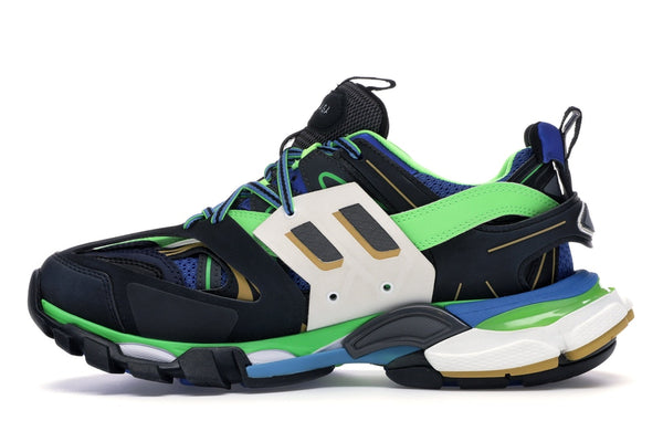 Balenciaga Track Green White Blue