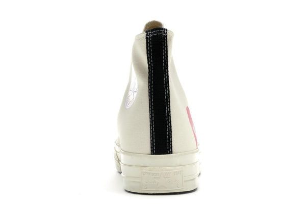 Converse Chuck Taylor All-Star 70s Hi Comme des Garcons PLAY White