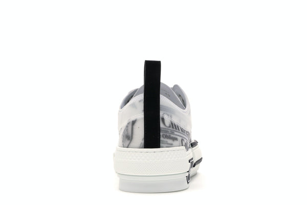 Dior B23 Low Top Daniel Asham Newspaper