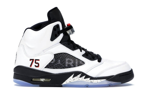Jordan 5 Retro Paris Saint-Germain White