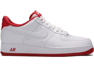 Nike Air Force 1 Low White University Red