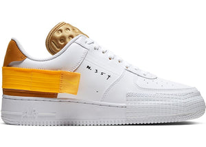 Nike Air Force 1 Type White Gold