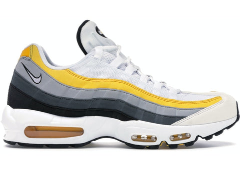 Nike Air Max 95 White Amarillo Dark Grey