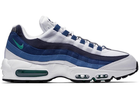 Nike Air Max 95 White Slate Blue