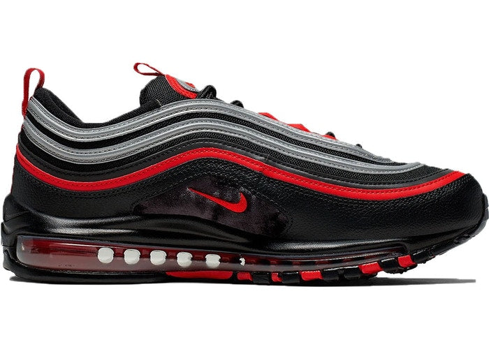 Nike Air Max 97 Black Red Silver