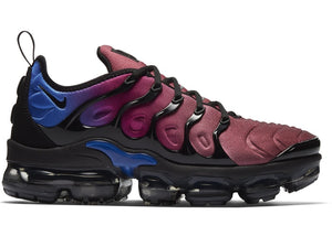 Nike Air VaporMax Plus Black Team Red Hyper Violet