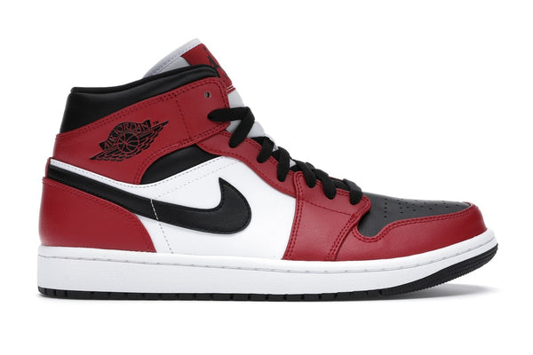 Jordan 1 Mid Chicago Toe
