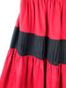 detail red skirt ysl saint laurent or buy vintage in paris best of vintage in paris  plaisir palace