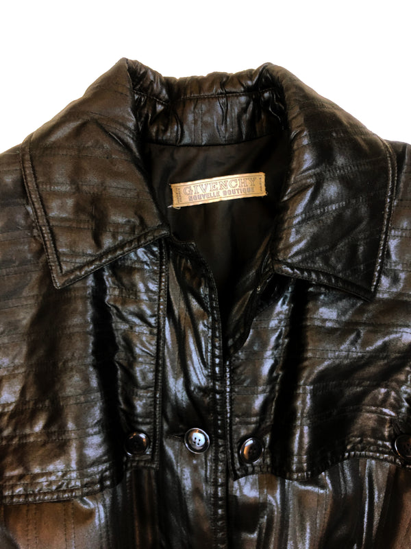 label of the vintage quilted givenchy coat plaisirpalace. Fr